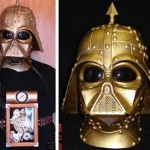 Steampunkad Darth Vader-mask