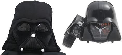 Darth Vader som klocka och kudde