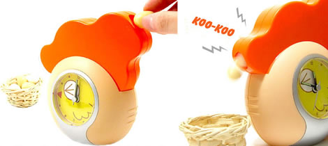 Med Egg Laying Alarm Clock