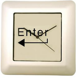 Enter Command Key Clock