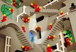 Eschers Relativitet i Lego