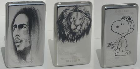 iPod med laseretsning