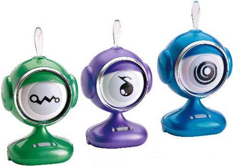Interaktiv ögonhögtalare