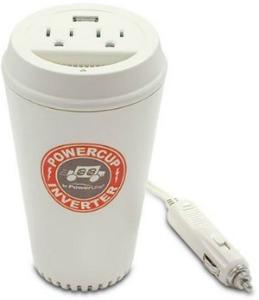 Kaffekopp som billaddare