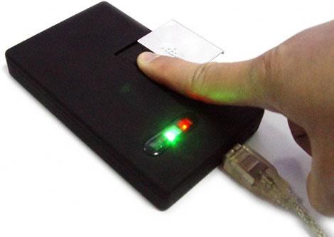 Skydda din hårddisk med fingeravtryck