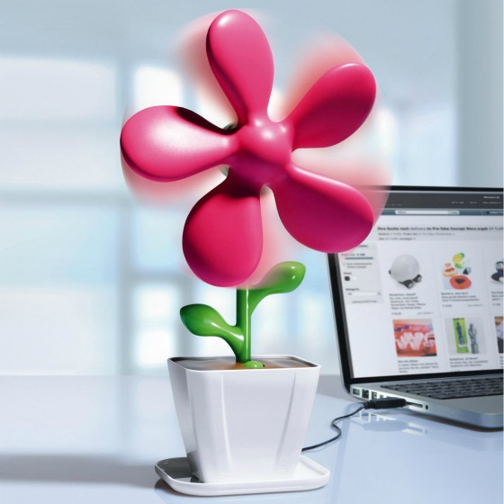 Flower Power-fläkt