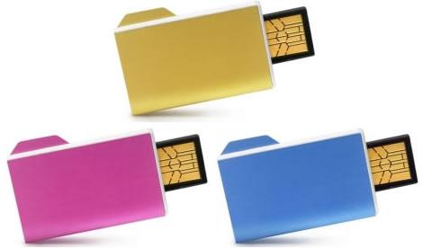 Folderix USB flashminne