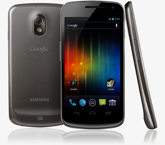 Galaxy Nexus mobiltelefon med Android 4.0
