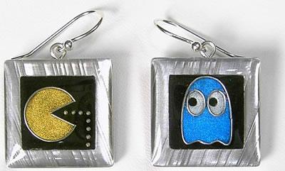 Pac-Man örhängen