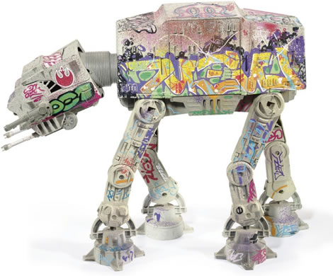 Graffiti AT-AT