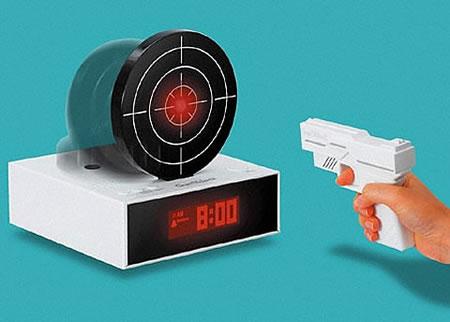 Väckarklocka för skjutglada