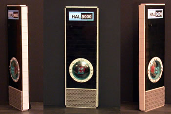 HAL 9000 av LEGO