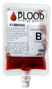 Blod energidryck