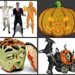 13 roliga prylar för Halloween