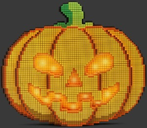 8-bitars pumpa