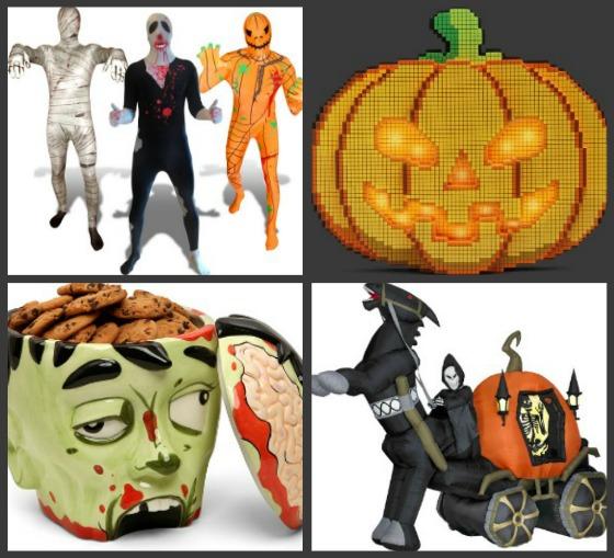 Roliga prylar för Halloween