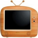 LCD-TV i trä