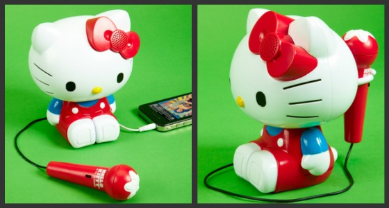 Hello Kitty karaokemaskin