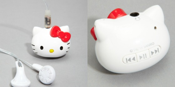 Hello Kitty mp3-spelare
