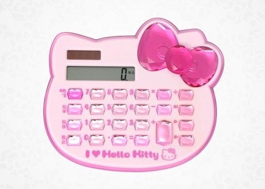 Hello Kitty-miniräknare