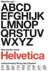 Helvetica Film Poster