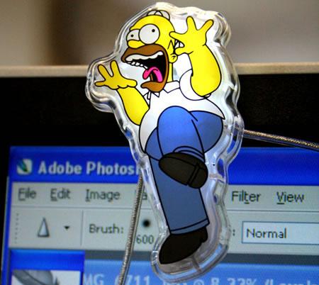 Lysande! Homer för datorskärmen