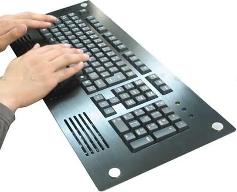 Thanko tangentbord med värme och kyla