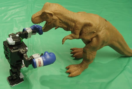 i-SOBOT mot Godzilla