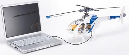 Radiostyrd USB-helikopter