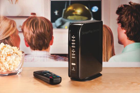 Iomega mediespelare för HD-film