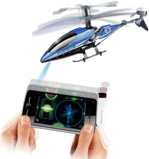 Inomhushelikopter för iOS och Android