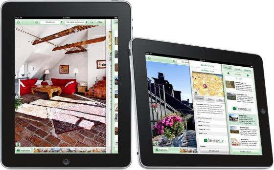 Hemnet iPad-app