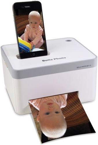 iPhone fotoskrivare