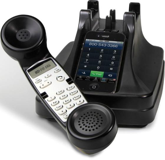 iPhone som gammeldags telefon