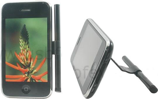 Stylus och stativ för iPhone och iPod