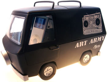 iPod Army Van