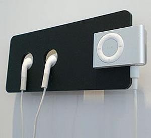 Hållare för iPod Shuffle