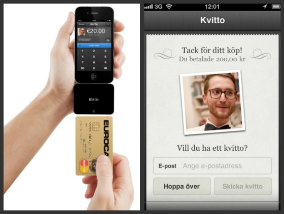 iZettle - ta betalt med din iPhone