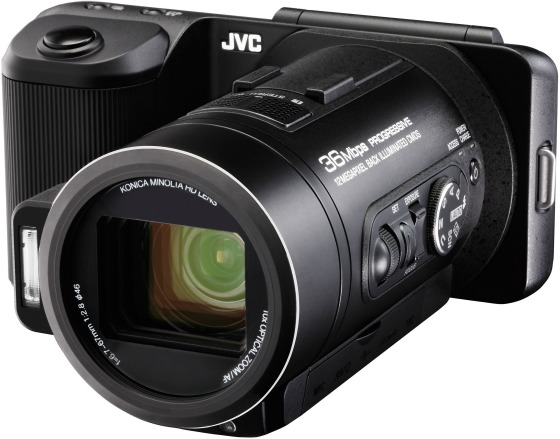 JVC GC-PX10 – ny kamera