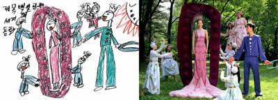Teckning vs. foto