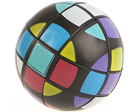 Rubiks kub som boll