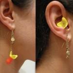 Örhängen med öronproppar