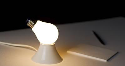 Glödlampslampa