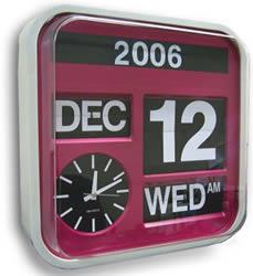 Big Flip Calendar Clock