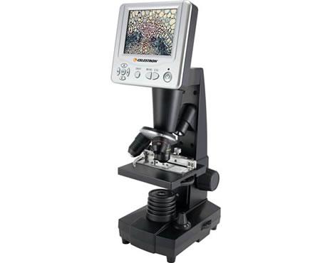 Mikroskop med LCD-skärm