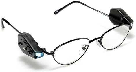 Glasögon med lysdioder