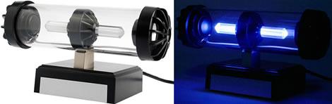 Lysande tubformad USB-högtalare