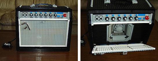 Fender Princeton Reverb i Lego