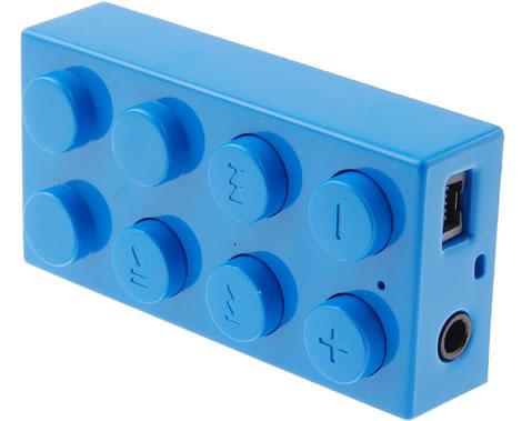 Mp3-spelare i Lego-stil