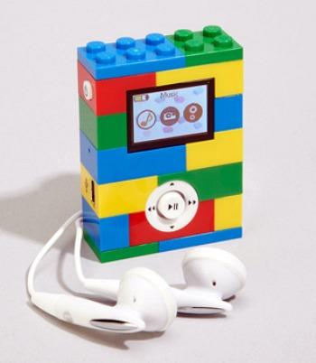 LEGO-inspirerad mp3-spelare